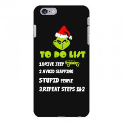 the grinch to do list drive jeep christmas iPhone 6 Plus/6s Plus Case | Artistshot