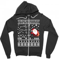 teachers merry christmas sweatshirt Zipper Hoodie | Artistshot