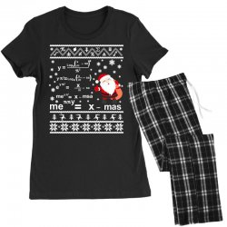 teachers merry christmas sweatshirt Women's Pajamas Set | Artistshot