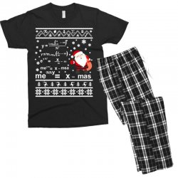 teachers merry christmas sweatshirt Men's T-shirt Pajama Set | Artistshot
