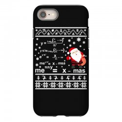 teachers merry christmas sweatshirt iPhone 8 Case | Artistshot