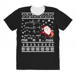 teachers merry christmas sweatshirt All Over Women's T-shirt | Artistshot