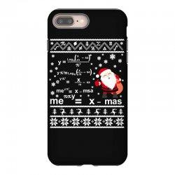 teachers merry christmas sweatshirt iPhone 8 Plus Case | Artistshot