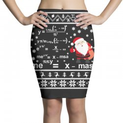 teachers merry christmas sweatshirt Pencil Skirts | Artistshot