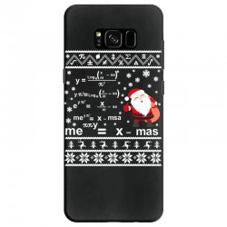 teachers merry christmas sweatshirt Samsung Galaxy S8 Case | Artistshot