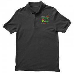 snow christmas in a world full of grinches be cindy lou who shirts Polo Shirt | Artistshot