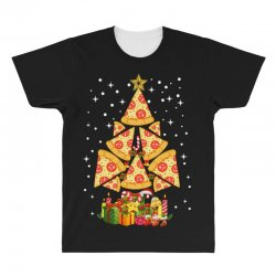 pizza christmas sweatshirt All Over Men's T-shirt | Artistshot