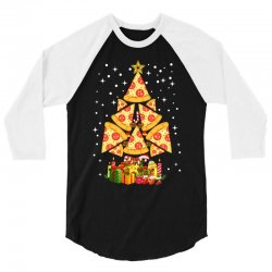 pizza christmas sweatshirt 3/4 Sleeve Shirt | Artistshot