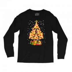 pizza christmas sweatshirt Long Sleeve Shirts | Artistshot