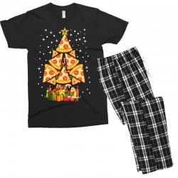 pizza christmas sweatshirt Men's T-shirt Pajama Set | Artistshot