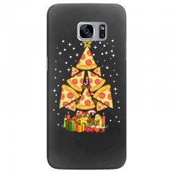 pizza christmas sweatshirt Samsung Galaxy S7 Edge | Artistshot