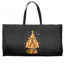 pizza christmas sweatshirt Weekender Totes | Artistshot