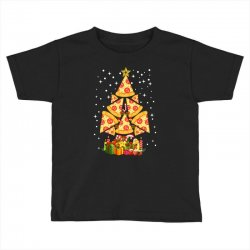 pizza christmas sweatshirt Toddler T-shirt | Artistshot