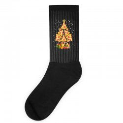 pizza christmas sweatshirt Socks | Artistshot