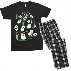 pandamonium Men's T-shirt Pajama Set | Artistshot