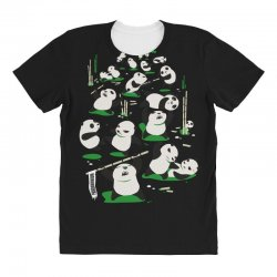 pandamonium All Over Women's T-shirt | Artistshot