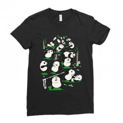 pandamonium Ladies Fitted T-Shirt | Artistshot