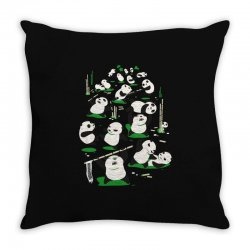 pandamonium Throw Pillow | Artistshot