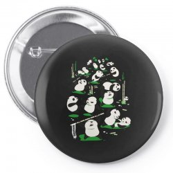 pandamonium Pin-back button | Artistshot