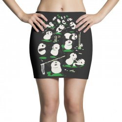 pandamonium Mini Skirts | Artistshot
