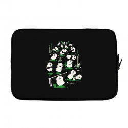 pandamonium Laptop sleeve | Artistshot