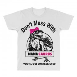 mama saurus All Over Men's T-shirt | Artistshot