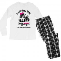 mama saurus Men's Long Sleeve Pajama Set | Artistshot
