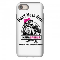 mama saurus iPhone 8 Case | Artistshot