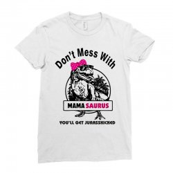mama saurus Ladies Fitted T-Shirt | Artistshot