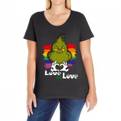love is love Ladies Curvy T-Shirt | Artistshot