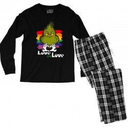 love is love Men's Long Sleeve Pajama Set | Artistshot