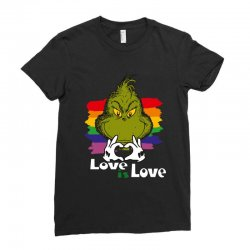 love is love Ladies Fitted T-Shirt | Artistshot