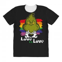 love is love All Over Women's T-shirt | Artistshot