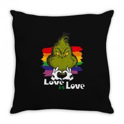 love is love Throw Pillow | Artistshot