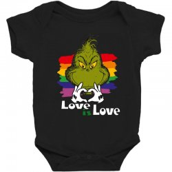 love is love Baby Bodysuit | Artistshot