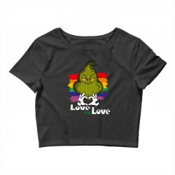 love is love Crop Top | Artistshot