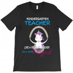 kindergarten teacher cute magical unicorn T-Shirt | Artistshot
