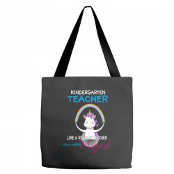 kindergarten teacher cute magical unicorn Tote Bags | Artistshot