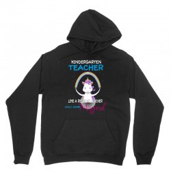 kindergarten teacher cute magical unicorn Unisex Hoodie | Artistshot