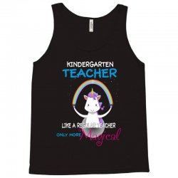 kindergarten teacher cute magical unicorn Tank Top | Artistshot