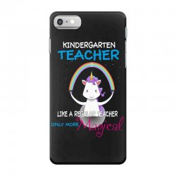 kindergarten teacher cute magical unicorn iPhone 7 Case | Artistshot