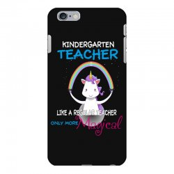 kindergarten teacher cute magical unicorn iPhone 6 Plus/6s Plus Case | Artistshot