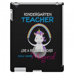 kindergarten teacher cute magical unicorn iPad 3 and 4 Case | Artistshot