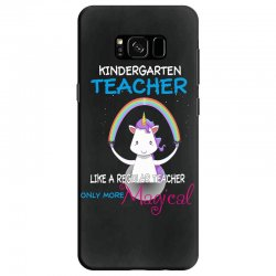 kindergarten teacher cute magical unicorn Samsung Galaxy S8 | Artistshot