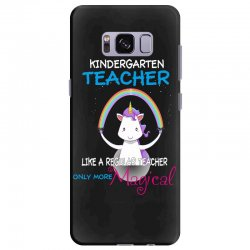 kindergarten teacher cute magical unicorn Samsung Galaxy S8 Plus | Artistshot
