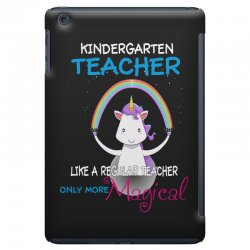 kindergarten teacher cute magical unicorn iPad Mini | Artistshot