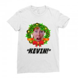 kate mccallister kevin christmas Ladies Fitted T-Shirt | Artistshot