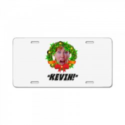 kate mccallister kevin christmas License Plate | Artistshot