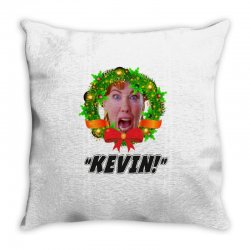 kate mccallister kevin christmas Throw Pillow | Artistshot