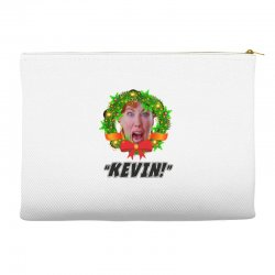 kate mccallister kevin christmas Accessory Pouches | Artistshot